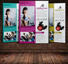 Body Fitness Flyer Template by Leza on Creative Market