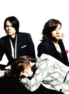 Atsushi Sakurai, Hisashi Imai and Hidehiko Hoshino. Buck-Tick