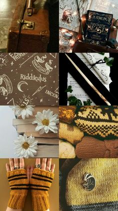 Collage for my Bestie Lucy Diggory 💛  Hufflepuff pride By ClaireDobesova
