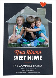 Sweet Heart Home 5x7 Stationery Card by Float Paperie | Shutterfly $1.51 each