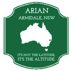 Our first International stamp! Arian logged in from New South Wales, Australia.