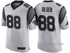 http://www.yesnike.com/big-discount-66-off-nike-carolina-panthers-88-greg-olsen-2016-gridiron-gray-ii-mens-nfl-limited-jersey.html BIG DISCOUNT ! 66% OFF ! NIKE CAROLINA PANTHERS #88 GREG OLSEN 2016 GRIDIRON GRAY II MEN'S NFL LIMITED JERSEY Only $26.00 , Free Shipping!