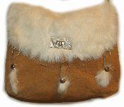 """""""Bunny"""" 3 tassel Tan Suede Rabbit Hair purse, western purses, leather purse, western bags, rhinestone western purses, leather western wallets, western wallets, western purse"""