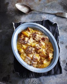 Easy British Bread and Butter Pudding