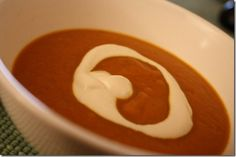 Creamy Carrot Ginger and Coconut Soup