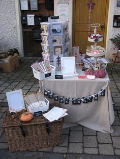 zeit-zum-basteln.de - Marktstand Lalling - street market