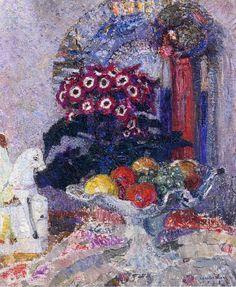 Leon De Smet - Fruit, Flowers and Staffordshire