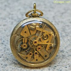 Dudley No. 3 Masonic Pocket Watch made in Lancaster Pennsylvania by the Dudley Watch Company.