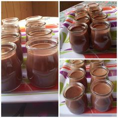 donabimby: Iogurte de Chocolate Chocolate Recipes, Kids Meals, Bakery, Food And Drink, Pudding, Favorite Recipes, Sweets, Snacks, Cooking
