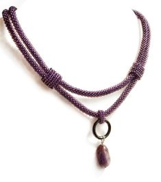 """Necklace """"Ametis"""" - this is pretty"""