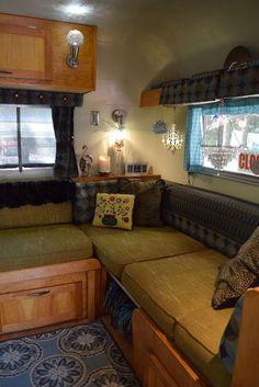 Cute interior in a Silver Streak Sabre