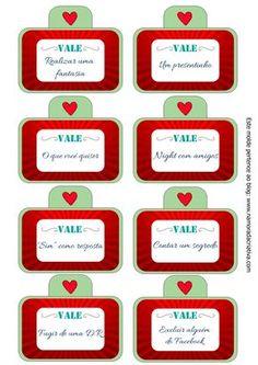 """Criativas, hoje trouxe o tutorial do """"Cupons do Amor"""". Fiz em formato de cartão explosivo, com bolsinhos; dentro de cada bolsinho vêm os cupons. Todos separados por categorias, sendo elas: sentimentos, lazer e diversão, de comer e bônus especiais!♥ Veja mais fotos com detalhes desse mimo:    Explico direitinho como fazer neste vídeo:   Moldes  Atenção:Para salvar os moldes você deve clicar na imagem e SÓ DEPOIS QUE ELA ABRIR NA SUA TELA você a salva em seu computador! (não funcion..."""