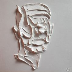 Thick Impasto Strokes Form Abstract Portraits in New Paintings by Salman Khoshroo | Colossal