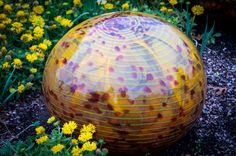 Chihuly glass orb