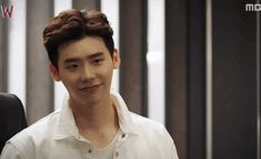 """Lee Jongsuk's flirty heart-stopping wink in MBC's W ep 3 """