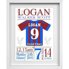 Crystal Palace Personalised Childrens Nursery Picture