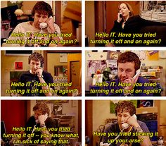 it crowd  have you tried turning it on and off again?  I can't give anyone IT help without thinking of this..lol