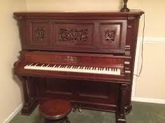 "Type ""Horace Waters piano"" into Google if you like to look at gorgeous old pianos! <3"