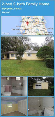 2-bed 2-bath Family Home in Zephyrhills, Florida ►$96,000 #PropertyForSaleFlorida http://florida-magic.com/properties/55129-family-home-for-sale-in-zephyrhills-florida-with-2-bedroom-2-bathroom