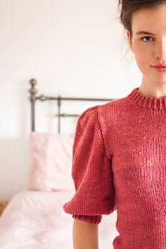 the lawrenson sweater Sweater Knitting Patterns, Hand Knitted Sweaters, Hand Knitting, Sweater And Shorts, Textiles, Knit Crochet, Cute Outfits, Knits, How To Wear