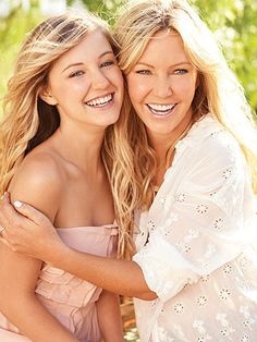 Heather Locklear  Ava Sambora @JampSocial www.meuseventosnet.blogspot.com.br