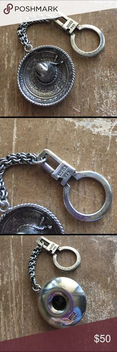 key chain vintage Sterling silver solid 925💫 key chain vintage Sterling silver solid 925💫 Jewelry