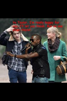 Kanye c'mon help some fans out and step in
