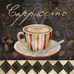 Cafe au Lait III  Cynthia Coulter