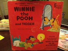 vintage records Winnie the Pooh and Tigger