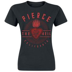 Sacred Heart - T-Shirt by Pierce The Veil