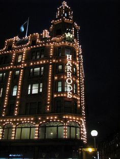 Harrod's ~ London, England Spent a whole day shopping here, you can buy everything from an elephant to fresh baked bread!