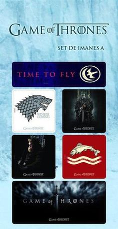 Game of Thrones Magnet Set - £6.99