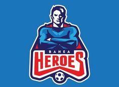 Mascot Design, Badge Design, Logo Design, Sports Team Logos, Sports Brands, Logo Tutorial, Nfl, Logo Face, Sports Decals