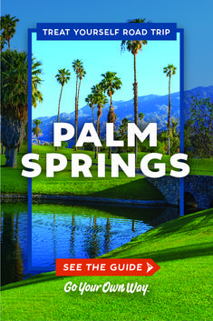 """From the sands of Palm Beach to the sands of Palm Springs, """"treat yourself"""" to some luxury."""