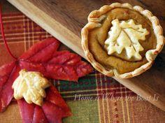 Mini Pumpkin Pie pic