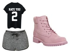 """""""Untitled #6"""" by perttypink on Polyvore featuring Topshop and Timberland"""