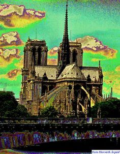 foto:A.Horváth Cologne, Paris France, Cathedral, Building, Travel, Pictures, Voyage, Buildings, Cathedrals