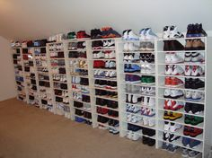 Check out this shoe collection!