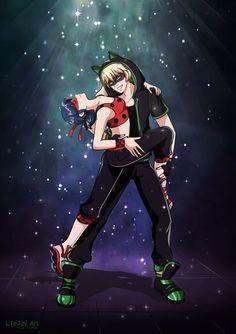 Break Dance AU! (Miraculous Ladybug, breakdance, Chat Noir)