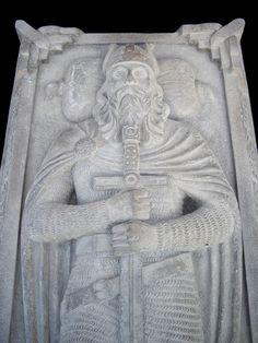 Sarcophagus from Norwegian church