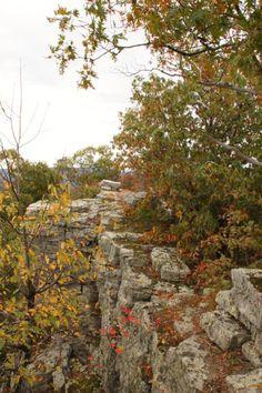 McFerrin Point Trail - via ExploringNWArkansas.com