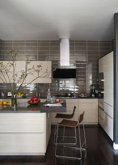 Vosgesparis BLogtour NYC Poggenpohl kitchen via Elle decor