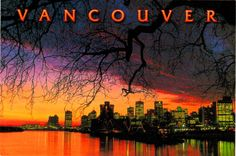 British Columbia, Vancouver, Celestial, Sunset, Movie Posters, Outdoor, Outdoors, Film Poster, Popcorn Posters