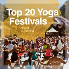 Yoga festivals are taking the world by the storm, and we've taken the time to sniff out some of the best yoga festivals in the world to help you decide which to attend! Whether you want to stay local, or fly to a destination far off the beaten path, this list of Top 20 Yoga Festivals around the World will get you there. Click through to see the full list of Top 20 Yoga Festivals!