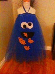 Monster CookieTutu Dress