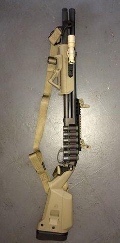 """Remington 870 Express Tactical Shotgun Guns <a class=""""pintag"""" href=""""/explore/Guns/"""" title=""""#Guns explore Pinterest"""">#Guns</a> http://www.instagram.com/yetichaos"""
