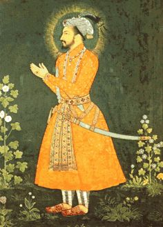 Shah Jahan, famed ruler of the Mughal Empire of India and patron of the arts, sciences and poetry.  Grandson of Akbar the Great and the man who comissioned the Taj Mahal