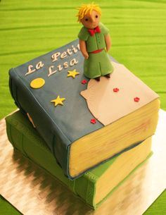 The Little Prince chocolate cake with chocolate ganache filling  http://passionecupcakes.blogspot.it/