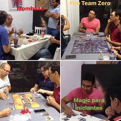 Jogos de ontem na Deli da Persy #boardgames  #magicthegathering