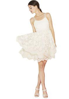 RORA POOF SKIRT TANK DRESS | Alice + Olivia |